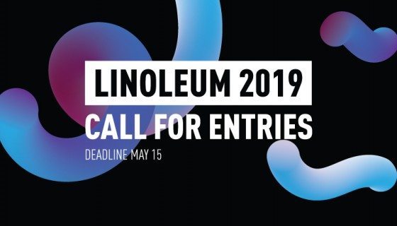 Submissions are now open for LINOLEUM 2019